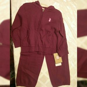 Juicy Couture Girl's Matching Set 18 Months